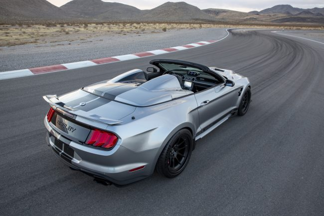 บั้นท้าย Shelby Super Snake Speedster